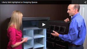 Liberty Safe Highlighted on Designing Spaces