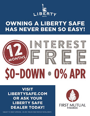 Liberty Safes finanacing